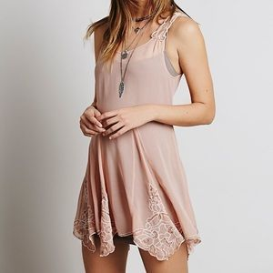 Free People Beads for Days Dress with Slip